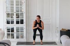 Hjemmeøvelser for hele kroppen Sit Up, Tabata, Kettlebell, Squat, Lunges, Abs, Health Fitness, Sporty, Workout