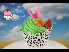 Make 3D Edible Butterflies (Fondant or Modeling Chocolate) -- A Cupcake Addiction How To Tutorial