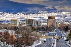 City of Boise Idaho | City of Boise and School Bus winter | Flickr - Photo Sharing!
