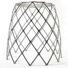 Enrico Bressan Kaktus Stool - Enrico Bressan, co-founder of Artecnica and an architect by trade, has created a sturdy, lightweight aluminum stool for both indoor and outdoor use. Small Furniture, Modern Furniture, Home Furniture, Furniture Design, Bamboo Furniture, Futuristic Furniture, Sofa Design, Furniture Ideas, Modern Stools