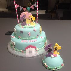 Taarten van Marion | Woezel en Pip taart met meptaartje