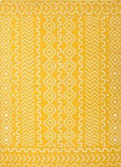 Amazon.com: Jaipur Urban Bungalow Doha Flat Weave Tribal Pattern Wool Handmade Rug: Furniture & Decor