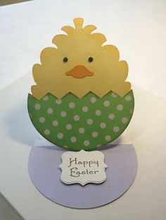 Fairly Crafty: Easter Card