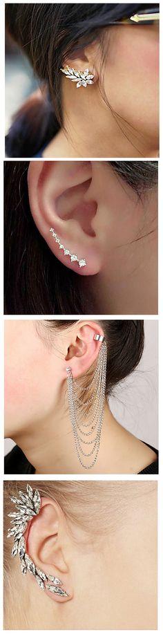 88942ee9b 73 Best ear jackets images   Ear Jewelry, Ear rings, Nice jewelry