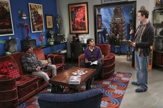 First Look: Change Isn't Always Easy On The Big Bang Theory Stuart seeks help from Howard and Raj