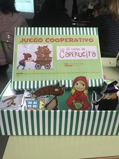 """Juego cooperativo: """"Las 10 cestas de Caperucita"""" - Actiludis Cooperative Games, Coops, Hampers, Classroom"""
