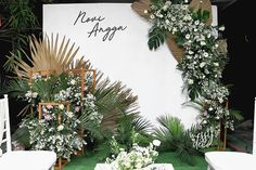 Wedding Backdrop Design, Wedding Stage Decorations, Engagement Decorations, Wedding Centerpieces, Backdrop Ideas, Backdrop Decorations, Photo Booth Backdrop, Backdrops, Green Brown Wedding