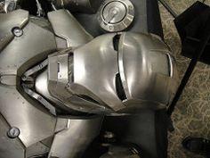 Captain America Prop Auction - Iron Man 2 armor helmet (Doug Kline) Tags: costumes movie display auction helmet armor studios marvel captainamerica props calabasas autopsy c2e2 profilesinhistory ironman2