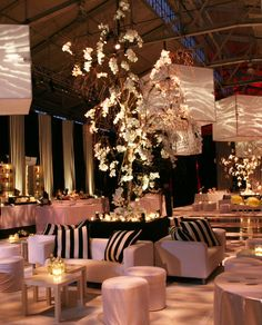 Especially like the big lights and the black and white cushions against the otherwise soft palette. LMC