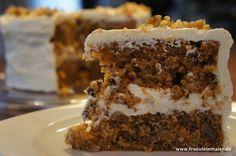 ultimate carrot cake - tolles Rezept für amerikanischen Karottenkuchen