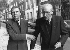 """artradish: """"Francis Bacon and William S. Burroughs in London, 1989 """" Francis Bacon, Barbara Kingsolver, Kathy Griffin, Beat Generation, Book People, Head & Shoulders, Popular Culture, Hanging Out, Famous People"""