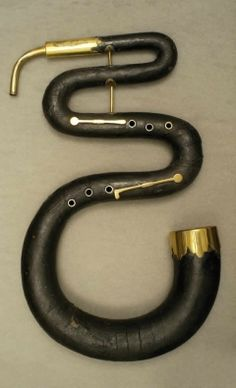 Musical Instrument: Serpent  Late 18th.