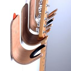 Plywood guitar/ukulele hook - onefortythree
