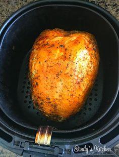 Air Fryer Turkey Breast – Famous Last Words Air Fryer Recipes Chips, Air Fryer Recipes Appetizers, Air Fryer Recipes Vegetarian, Air Fryer Recipes Low Carb, Air Fryer Recipes Breakfast, Air Frier Recipes, Air Fryer Dinner Recipes, Air Fryer Turkey Recipes, Turkey Fryer