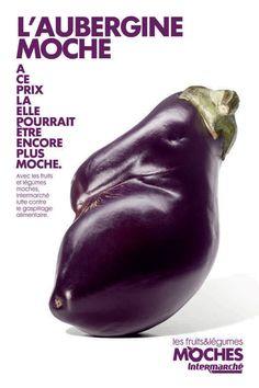 Intermarché : campagne publicitaire pour les fruits et légumes non calibrés
