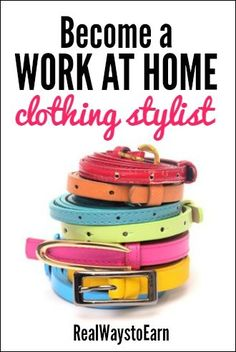 Become a Work at Home Clothing Stylist For Stitch Fix