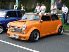 Lowered Orange mini by foshie, via Flickr