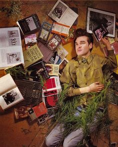 Love his obsession with Oscar Wilde and his constant use of graspable plant life. XD