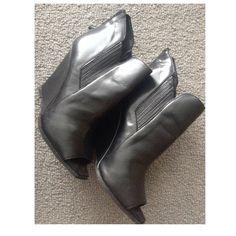 Zara Shoes - Zara peep toe wedge
