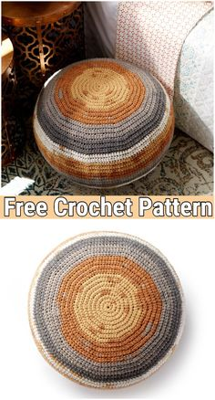 You actually belong to these groups people that rarely worry about glamour as well as over-the-top designs for your house, then this is definitely your current cup of joe. Read this post for 35 diy home decor ideas on budget. Crochet Floor Cushion, Crochet Pouf Pattern, Cute Crochet, Crochet Patterns, Diy Crochet Pouf, Knitted Pouf, Crochet Home Decor, Crochet Crafts, Diy Home Decor
