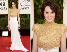 Michelle Dockery In Alexandre Vauthier Couture – 2013 Golden Globe Awards