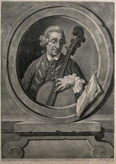 Johan Joseph Zoffany. Музыкант, возможно Франц Йозеф Гайдн (1732-1809)