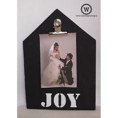 Memobord huis met tekst, bijzonder #cadeau voor een #bruiloft of #trouwdag, evt. met #trouwfoto of #trouwkaart erin.