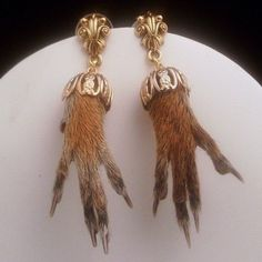 Squirrel Feet Earings