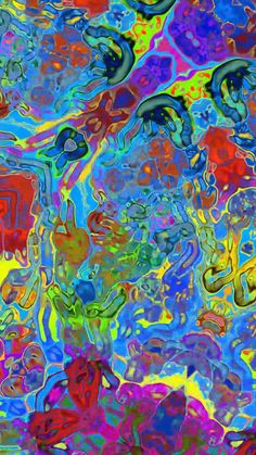 psychedelic art Turbulent Glassy Liquid Mirror by GT Trippy Wallpaper, Iphone Background Wallpaper, Trippy Background, Acid Wallpaper, Hippie Background, Candy Background, Tie Dye Background, Hippie Wallpaper, Eyes Wallpaper