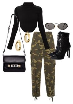 """Untitled #23612"" by florencia95 ❤ liked on Polyvore featuring Proenza Schouler, Argento Vivo, Jean-Paul Gaultier and Jeffrey Campbell"