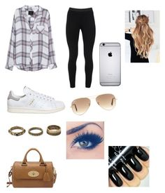 """Untitled #123"" by mkcorniel on Polyvore featuring Rails, Peace of Cloth, adidas, Forever 21, Ray-Ban and Mulberry"