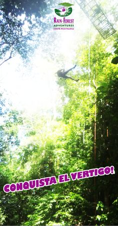Conquista el #VERTIGO! Rainforest Adventures Costa Rica, Jaco Park!