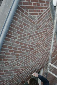 Brick Archway, Brick Masonry, Brick Construction, Brick Design, Brick And Stone, Brickwork, Building Materials, Building A House, Tile Floor