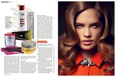 MARIE CLAIRE Hair Color feature Hairdresser: JANINE JARMAN