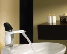 The black handle, chrome body and flat spout transform the bathroom into a concert hall in which every element becomes an elegant, understated instrument in a symbolic orchestra. Sanitary Solutions By Hafele