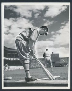 Polo Grounds April 1935 Babe Ruth