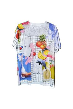 Mood Board T-shirt by Dom Sebastian Conversational Prints, Quirky Fashion, Branding, Sweater Shirt, Well Dressed, Dress To Impress, Nice Dresses, Tees, Shirts