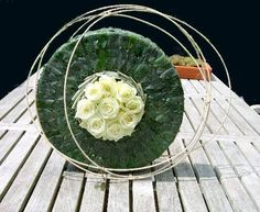 Bladapplicatie maken in vorm van taart - bladapplicatie maken met bladeren van eleagnus of olijfwilg