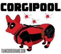 Corgipool is not your regular superhero. Get your shirt today!