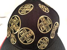 b5b2fe49b Very Unique and Rare - 24 Gold Patches New Era Fitted Cap - Size 7 - by  CoryCranksOutHats on Etsy