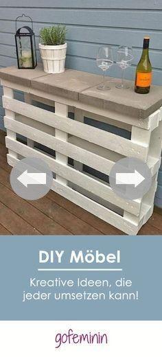 Recycling Coole Möbel aus alten Paletten \u2013 Teil 3 + VIDEO Diy