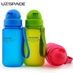 400ML 350ML 300ML BPA free Tritan Baby Straw Water Bottles Children Health Colorful Nutrition Custom Kids Shaker Cover Bottles #Affiliate