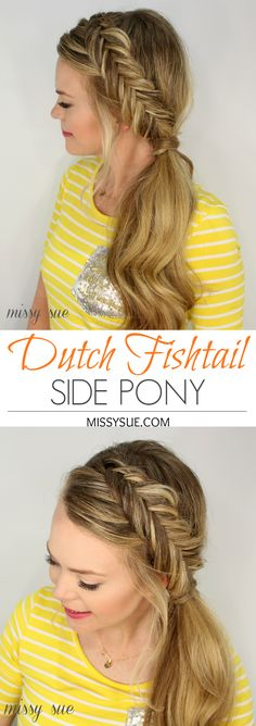 inverted-dutch-fishtail-braid-pony