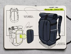 This is a minimalist daypack for the sophisticated explorer.
