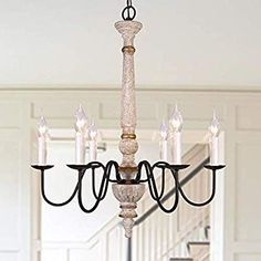 OSAIRUOS Distressed Wood Chandelier Rustic Farmhouse Chandeliers for Dining Room Handmade French Country Lighting Light Fixture Hanging Foyer Living Room Bedroom Entryway Chandelier X Entryway Chandelier, Farmhouse Chandelier, Chandelier In Living Room, Rustic Chandelier, Chandeliers, Foyer, Hanging Light Fixtures, Pendant Light Fixtures, Ceiling Light Fixtures
