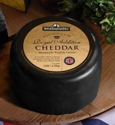 A Cheese In Honor of the New Royal Baby: Royal Addition Cheddar The Cheesemonger (GIVE ME THIS CHEESE)