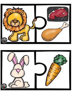 Puzle animales vs alimento (7)