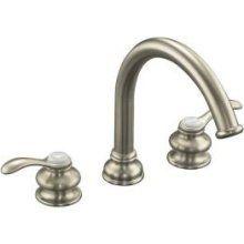 Kohler K-T12885-4-BN Fairfax Brushed Nickel Roman Tub Faucet Widespread Trim Kit