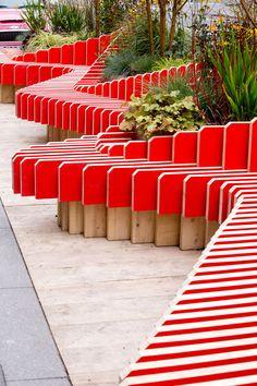 Parklet Bench by WMB Studio