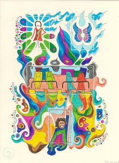 Die Blumenwiesenfee Illustration 33 Flügel Moose Art, Illustration, Animals, Fairy, Animales, Animaux, Animal, Illustrations, Animais